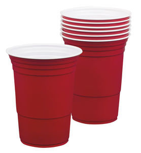 Red cups- mukit (40 cl)